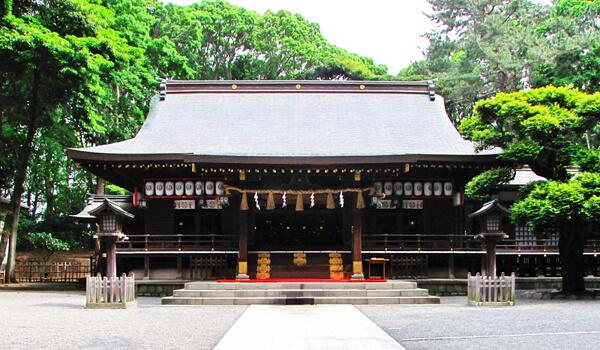 神奈川県の平塚八幡宮の写真