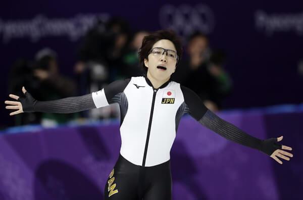 小平奈緒選手の写真
