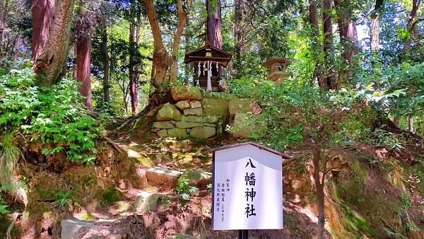 滋賀県の八幡神社の写真