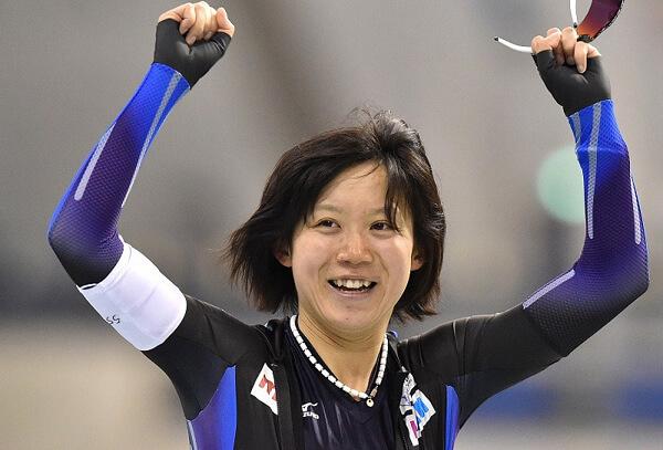 高木美帆選手の写真