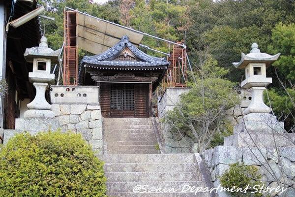 安田荒魂神社の写真