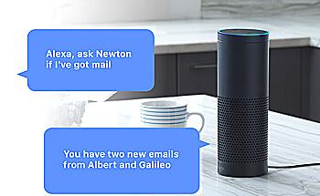 アマゾンの人工知能Alexaの写真