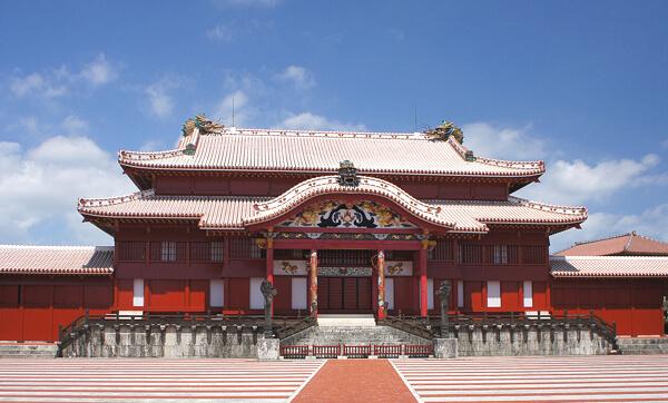 首里城正殿の写真