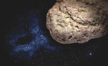 小惑星のイラスト