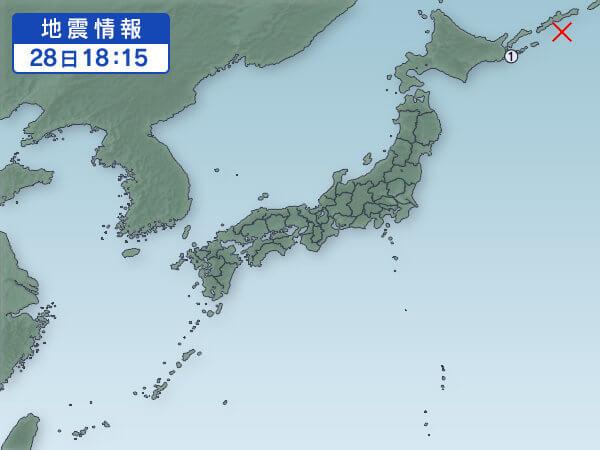 地震活動の画像