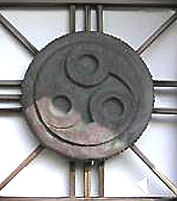勾玉の神紋の写真