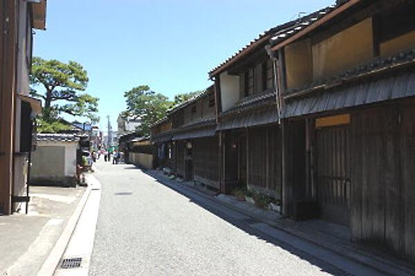 三重県松坂市の街並みの写真