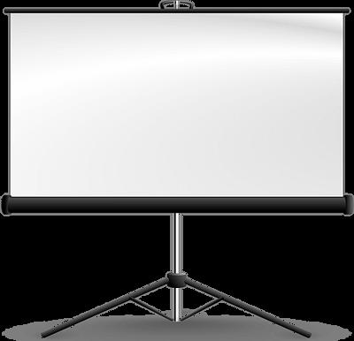 スクリーンのイラスト