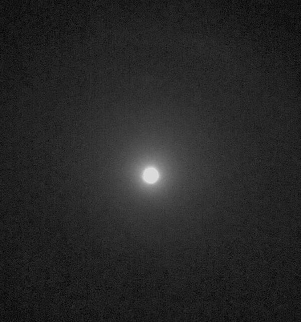 月暈の写真