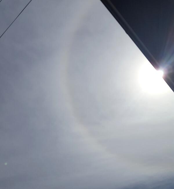 日暈の投稿写真