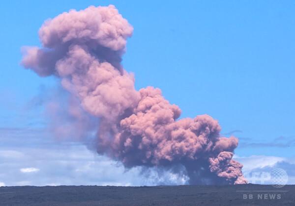 キラウエア火山の噴火の写真