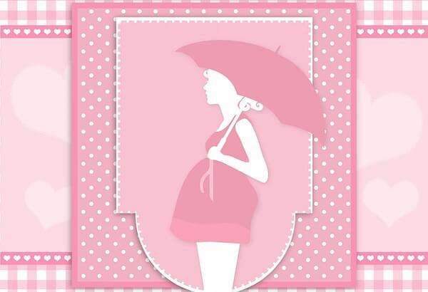 妊婦さんのイメージイラスト