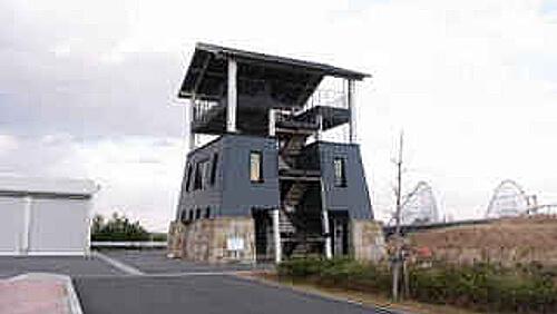 伊勢湾台風記念館の展望台の写真