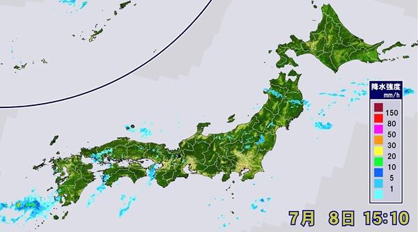 天気図の画像