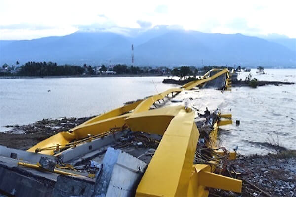 インドネシア大地震の画像