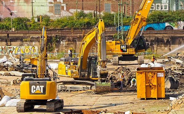 工事現場の写真