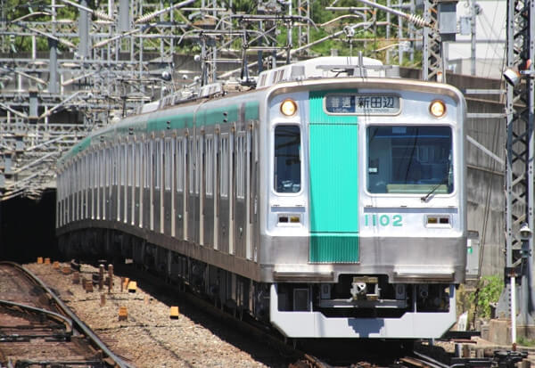 京都の電車の写真