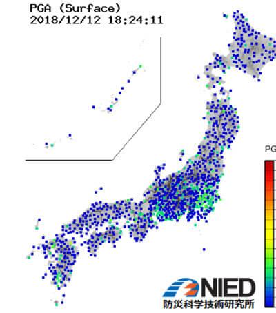 長周期地震モニター