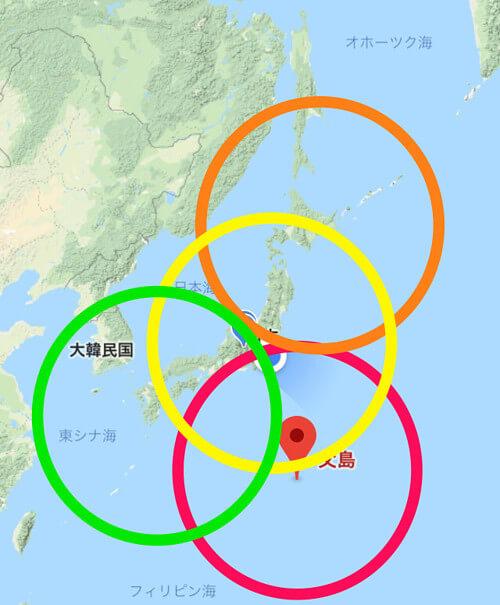 対応する地震の範囲