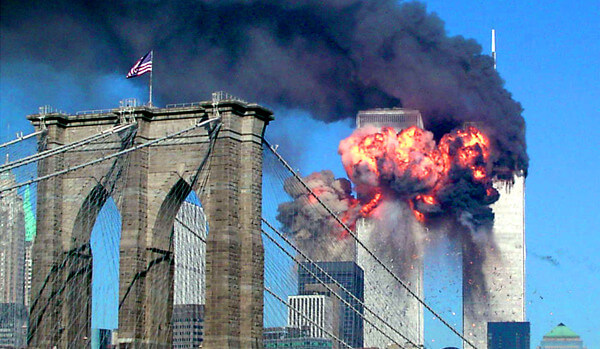 NY同時多発テロの写真