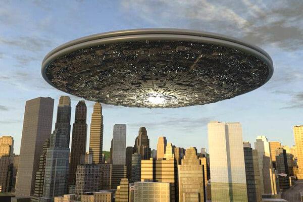 UFOのCG画像