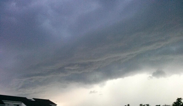 龍のような雲の写真(マーミンさん)