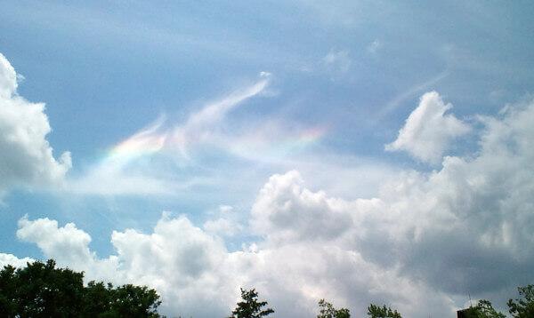 龍のような雲の写真(あん子さん)