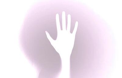 白い手のイメージイラスト