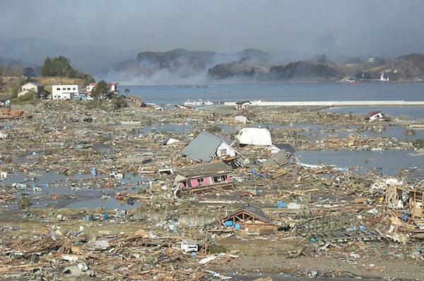 東日本大震災の写真