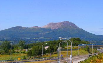 有珠山の写真