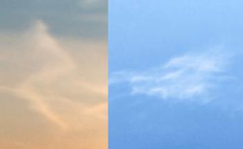 龍っぽい雲の投稿写真