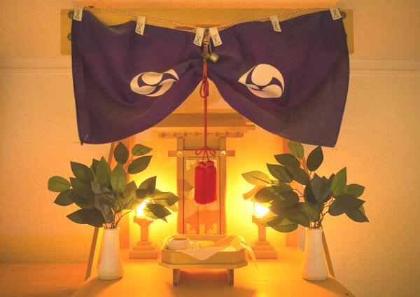 神棚の画像