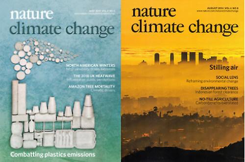 専門誌「Nature Climate Change」の画像