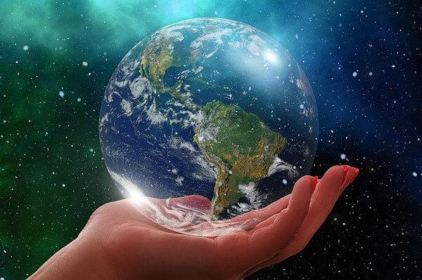 地球のイメージイラスト