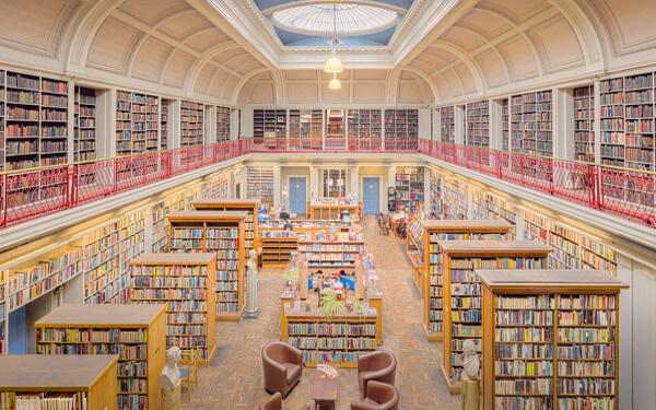 図書館の写真