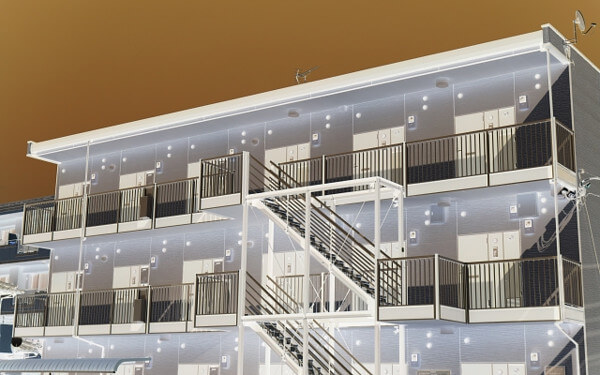 アパートの写真