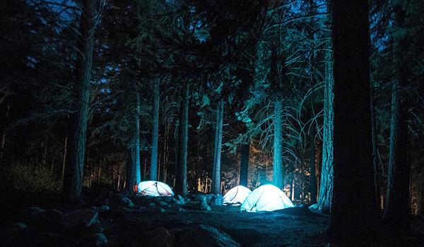 キャンプ場の写真