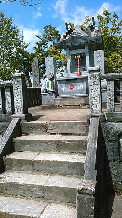 三峯神社の写真(奥宮)
