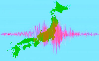 地震予知のイメージイラスト
