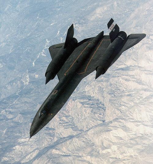 SR-71ブラックバードの画像
