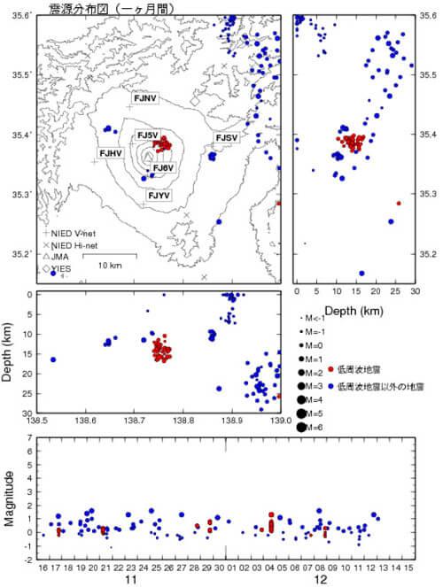 震度分布図の画像