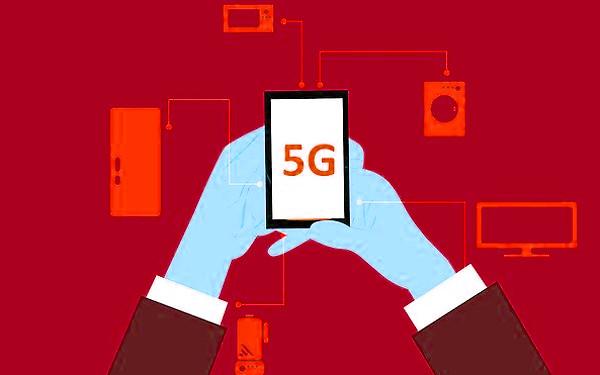 5G通信のイメージイラスト