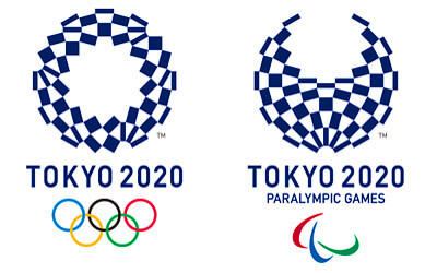 東京オリンピックのロゴイラスト