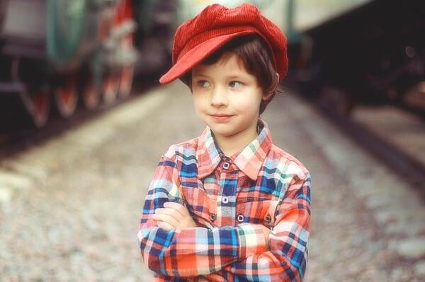 男の子の写真