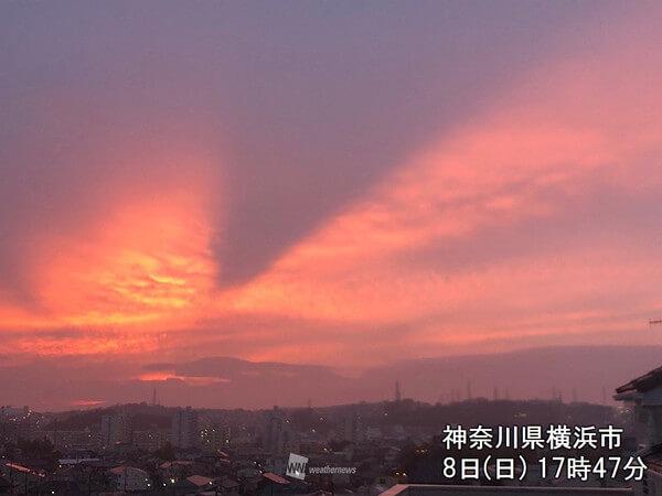 龍の顔ような雲の写真