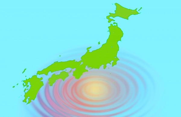 南海トラフ大地震のイメージイラスト