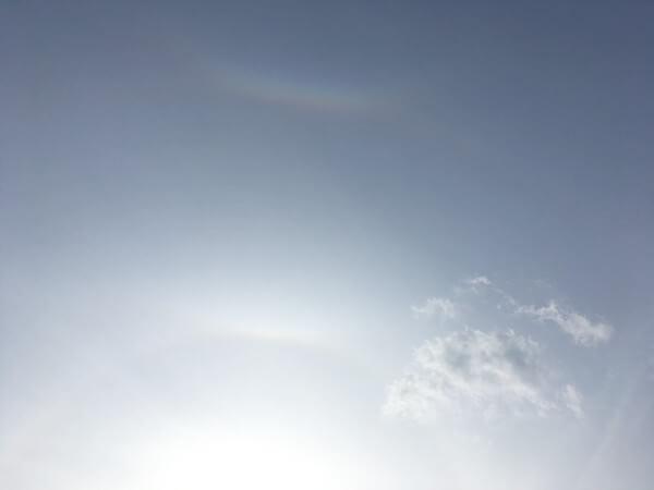 日暈(ハロ)の投稿写真