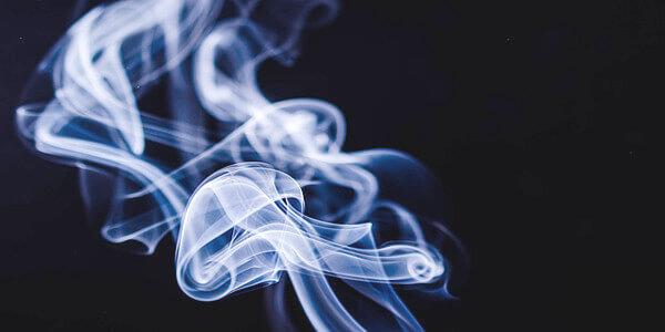 タバコの煙の写真