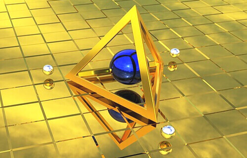 ピラミッドのイメージイラスト