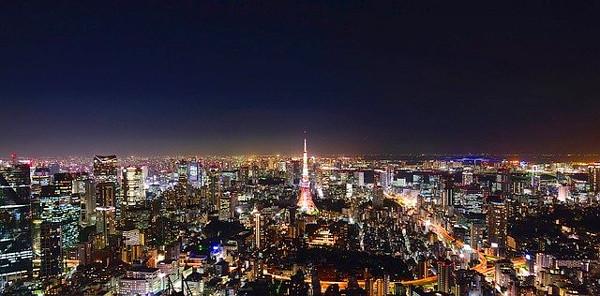 東京の夜景写真